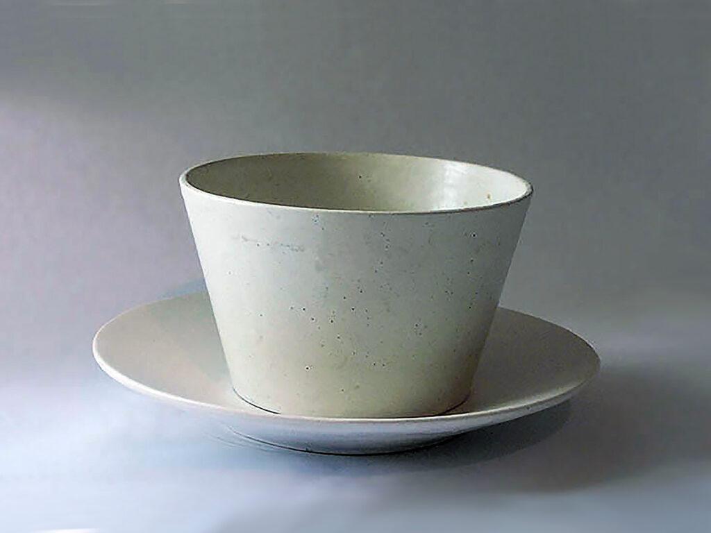 Stoneware Chowder Bowl & Saucer