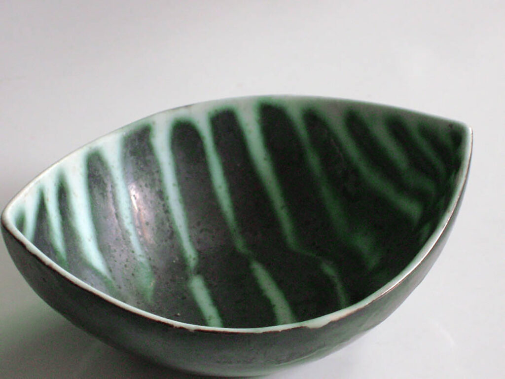 Boat Bowl in One of a Kind Decoration by Mackenzie Andersen