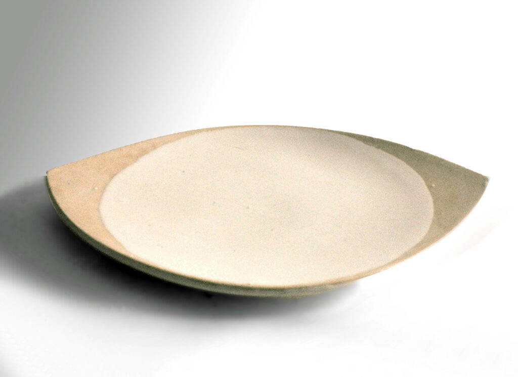 Rare Midcentury Boat Shaped Plate by Weston Neil Andersen