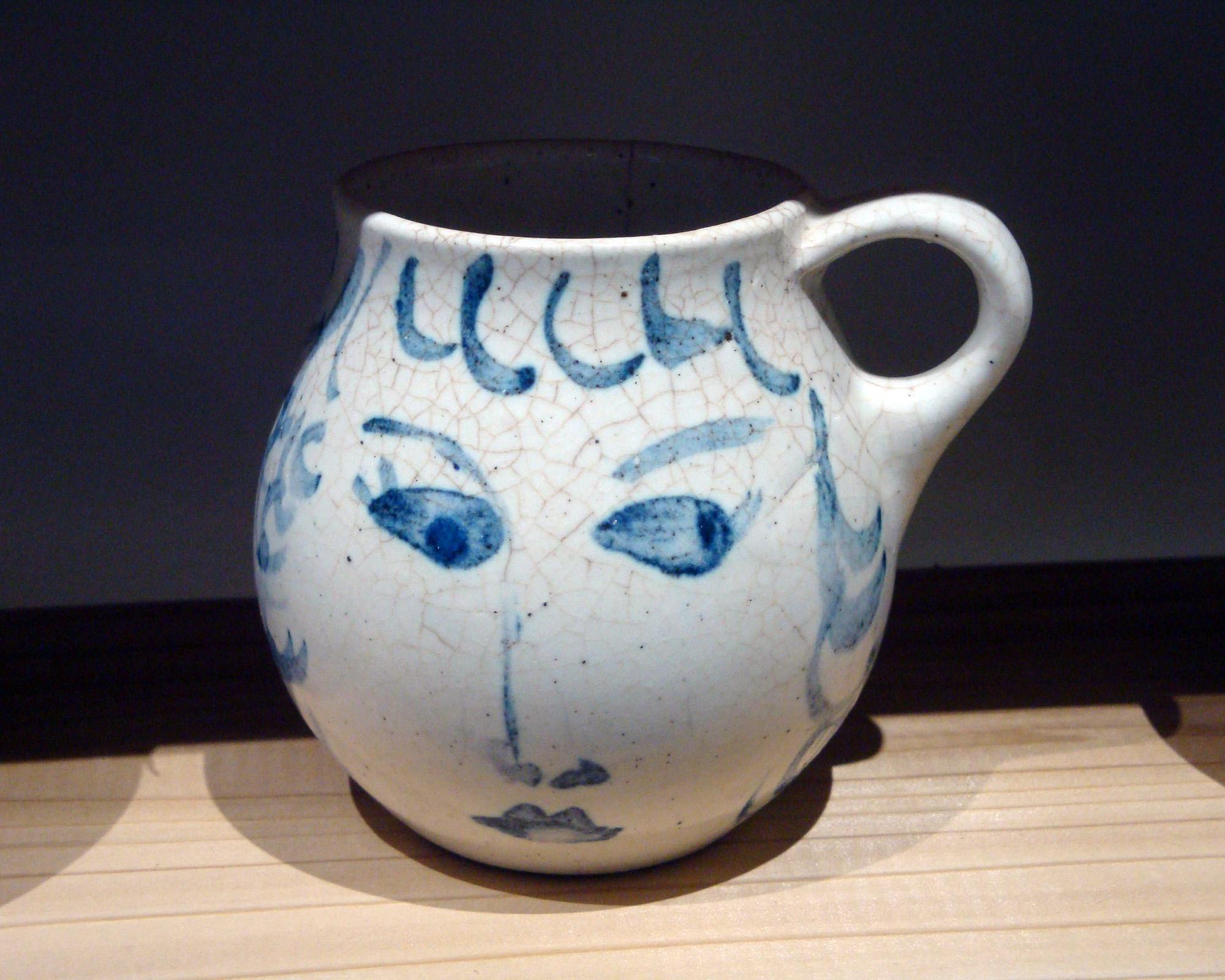 Vintage Mug decorated by Brenda Andersen