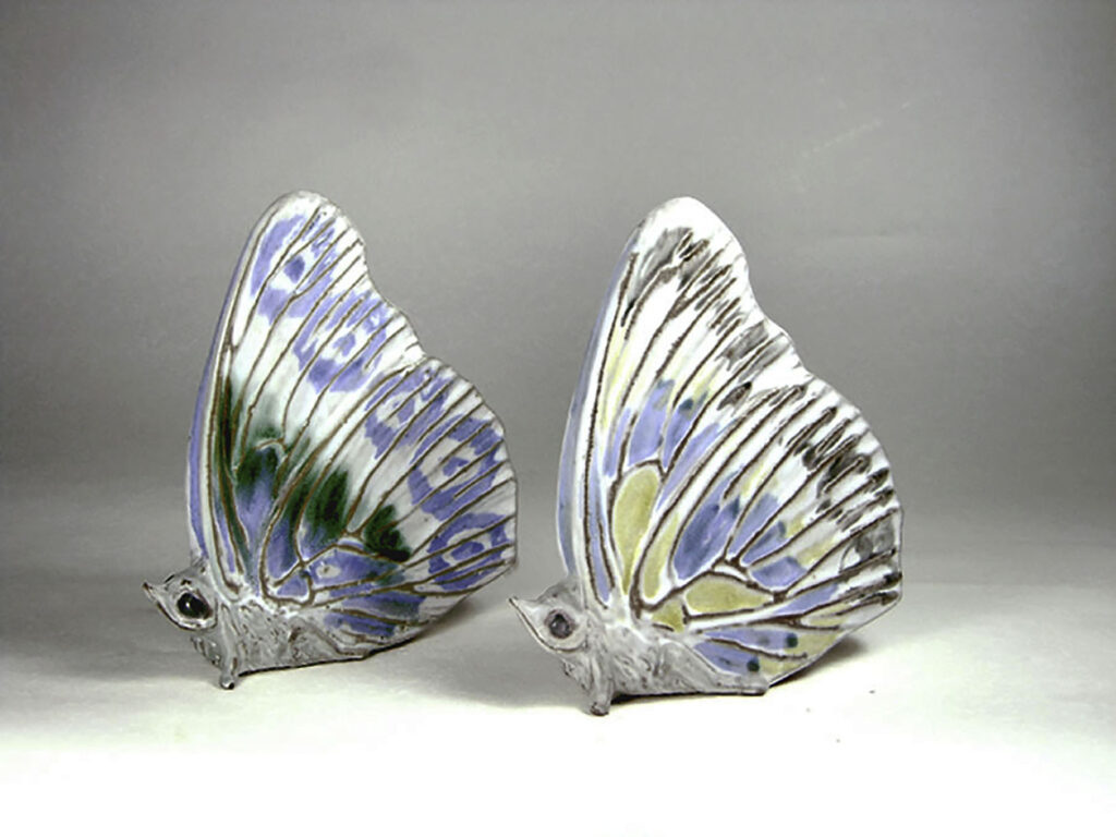 Stoneware Butterflies