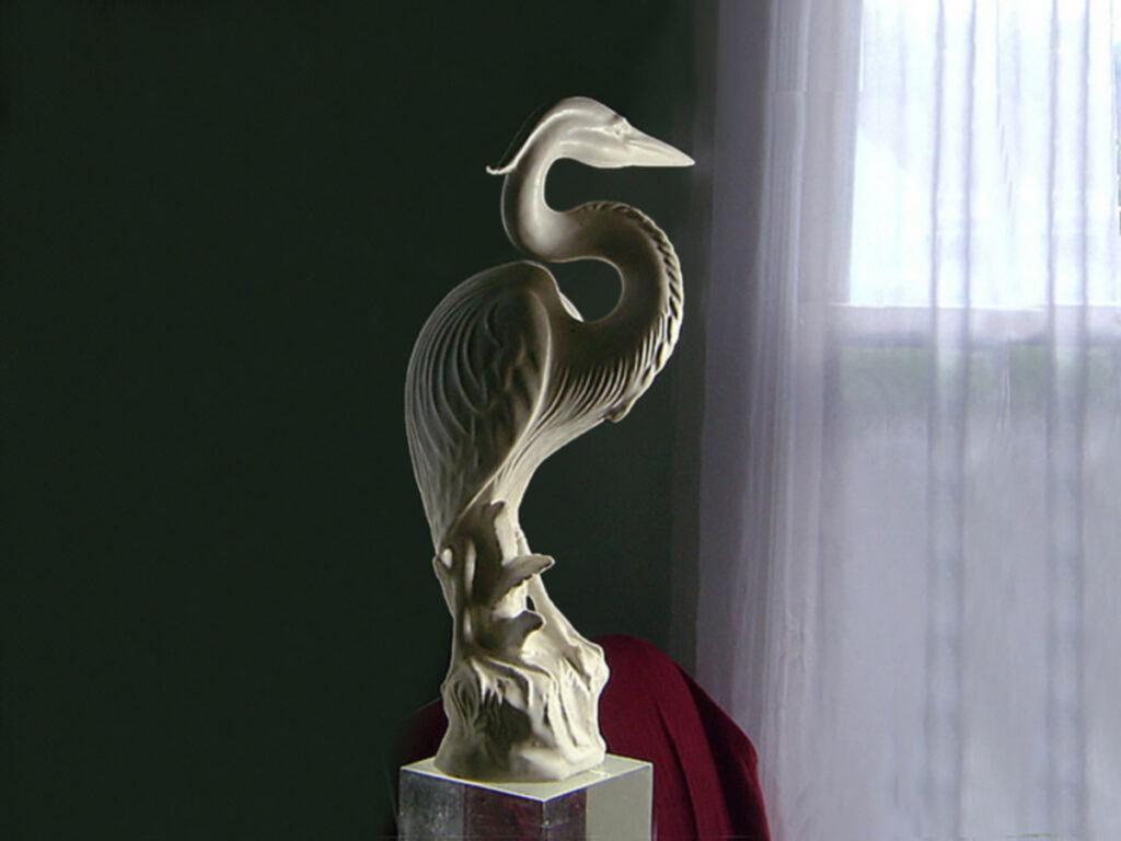 White Heron By Weston Neil Andersen