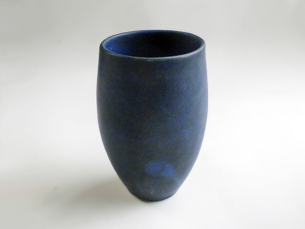 Vintage Tumbler in Early Blue Glaze