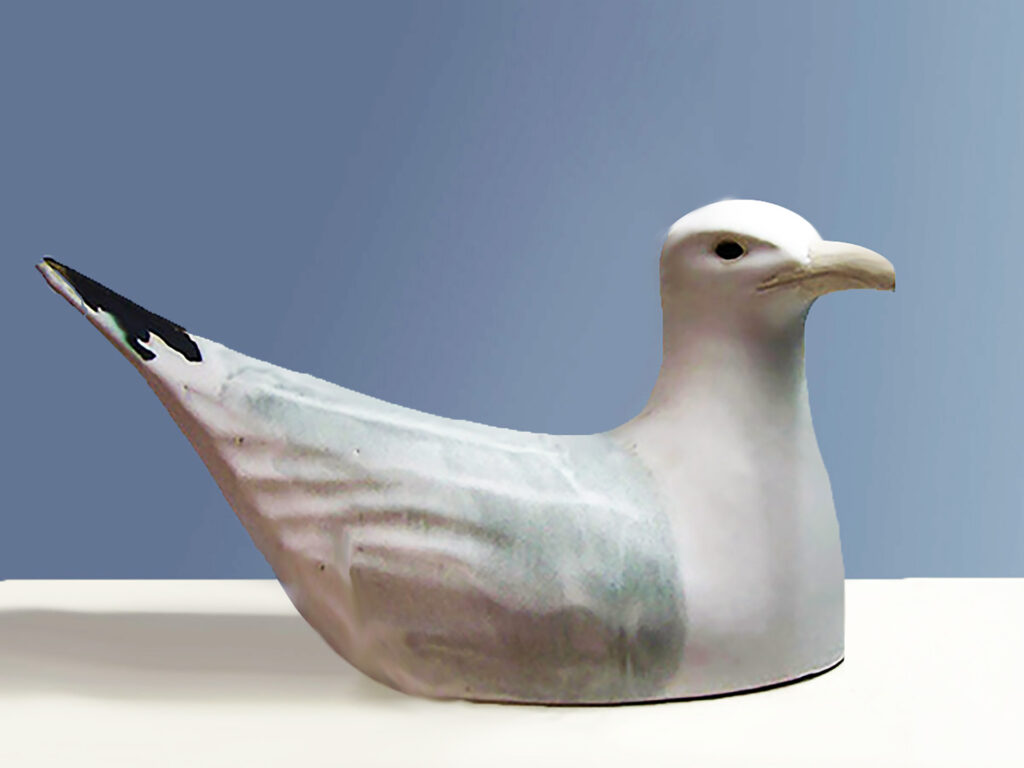 Floating Gull The First Wild Life Sculpture by Andersen Design