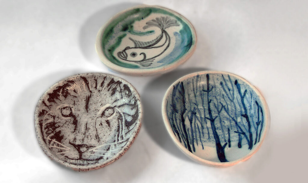Cobble Collection, Lion, Fish and Blue Forest