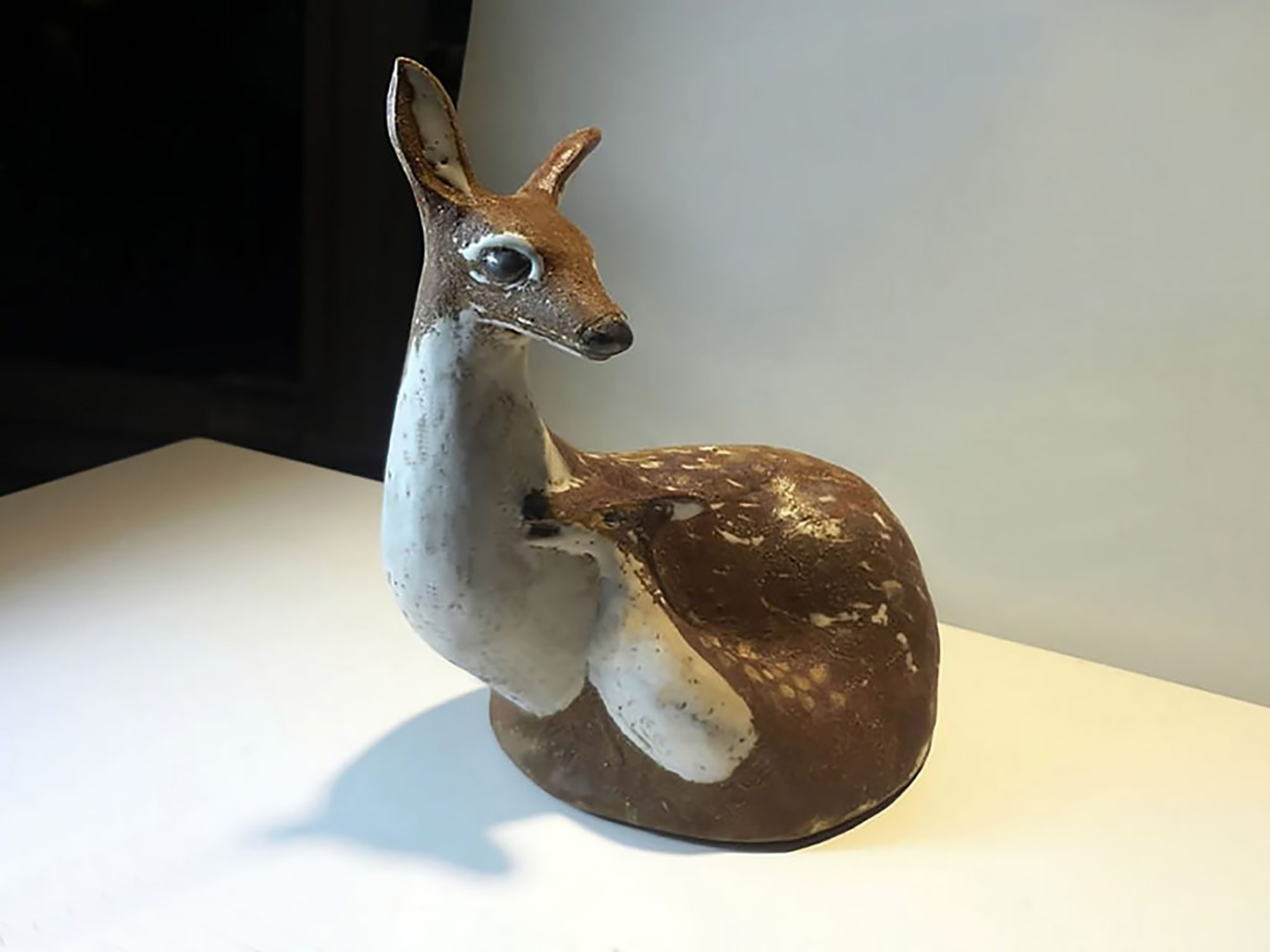 Doe with Fawn By Elise Isabell Andersen