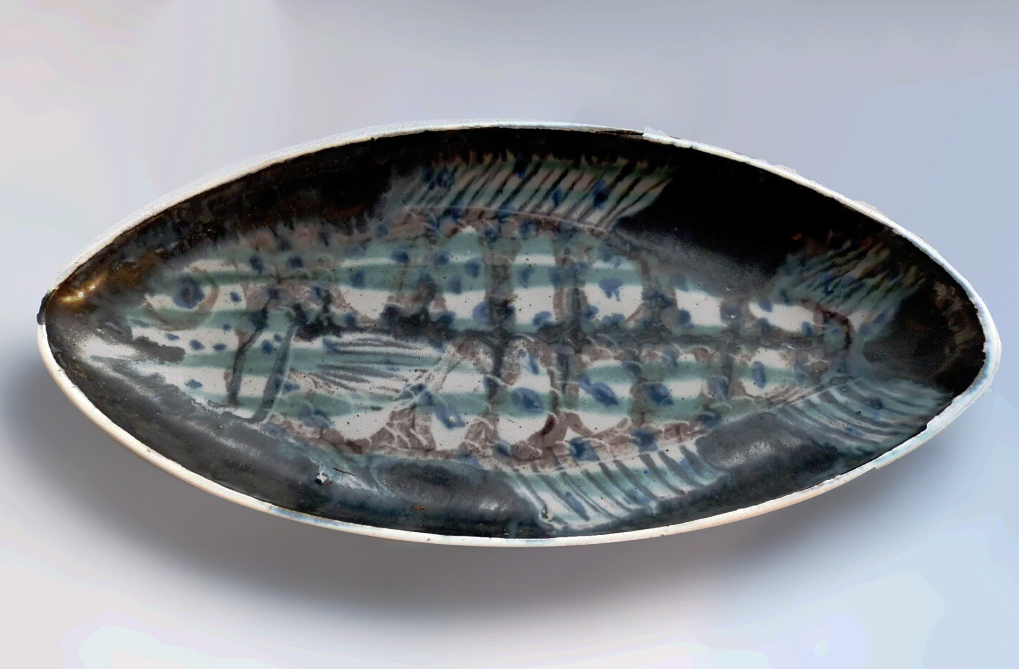 Midcentury One of A Kind Fish by Brenda