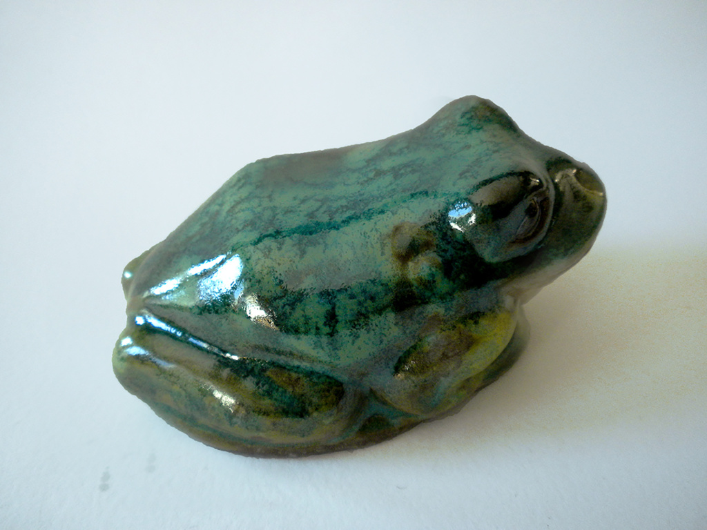 Frog in Glossy Green
