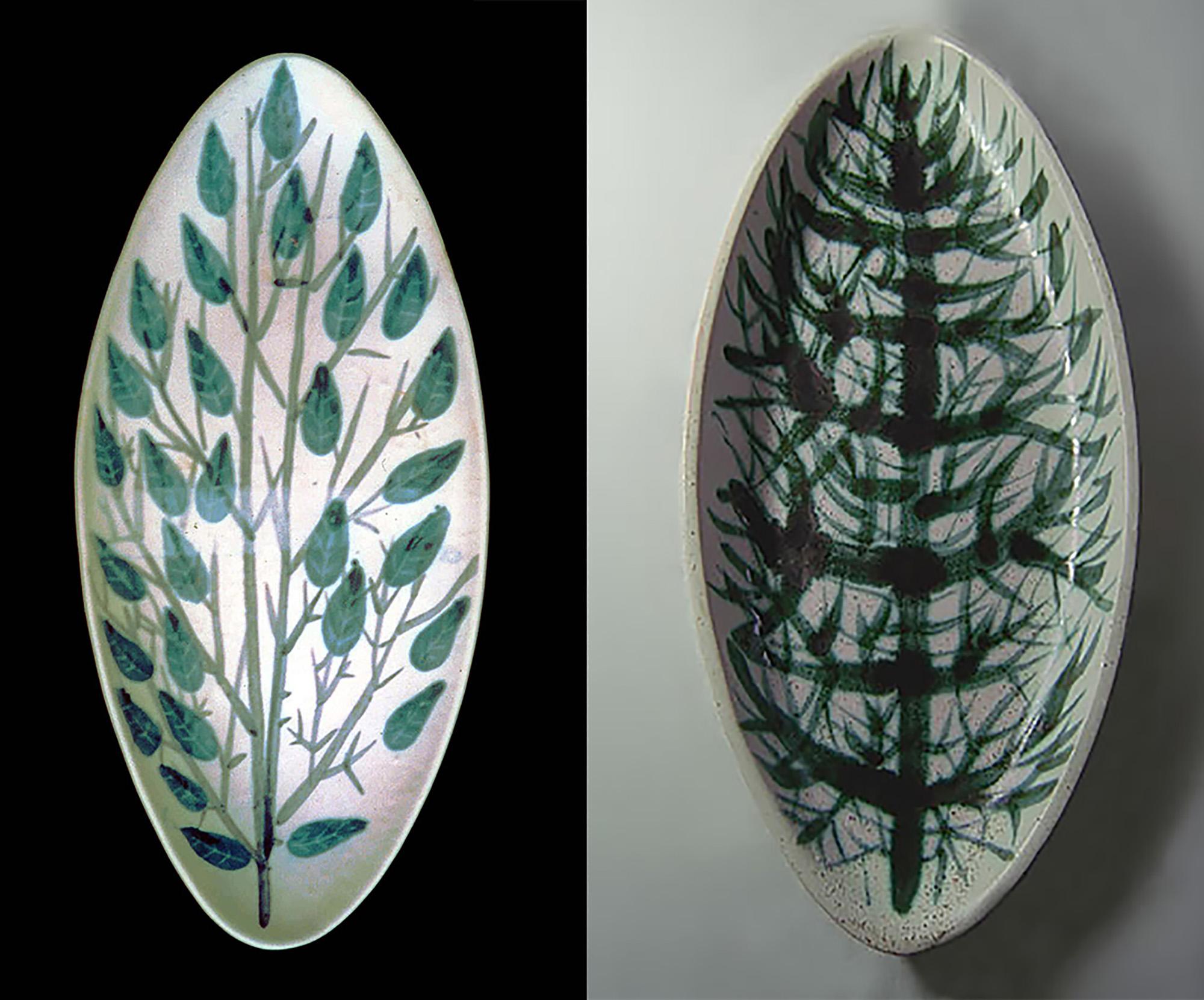 Midcentury Platters By Brenda Andersen