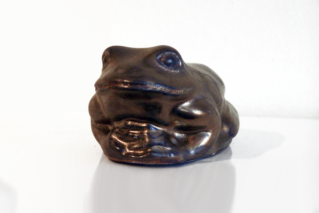 Frog in Bronze Glaze